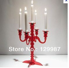 Plexiglass Candlelabra Paper and Cake - Part 25 Decor, Candlelabra, Romantic Decor, Candles, Candle Sconces, Candlesticks, Cheap Candle Holders, Decorating With Pictures, Candle Stand