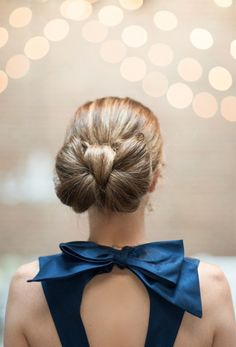 21 Wedding Updos That Go Way Beyond the Low Bun via Brit + Co.