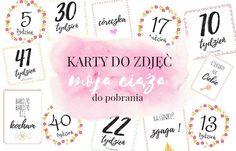 Magda M. | Blog Parentingowy: Karty do zdjęć - moja ciąża tydzień po tygodniu (d...