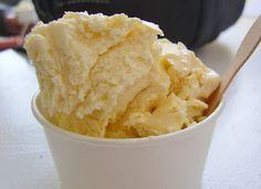 Several paleo ice cream recipes including French vanilla, double chocolate, & maple