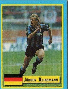 Jurgen Klinsmann (Germany) Soccer Cards, Baseball Cards, World Football, Best Player, Soccer Players, Germany, Classic, Sports, People