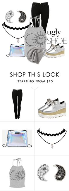 """""""ugly shoe"""" by kim-coffey-harlow ❤ liked on Polyvore featuring MM6 Maison Margiela, Sydney Evan and Converse"""