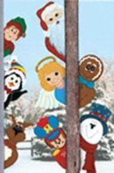 29-CYD139 - Peeking North Pole Pals Woodworking Plan