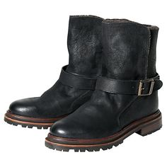 Buy H by Hudson Tatham Leather Ankle Boots Online at johnlewis.com