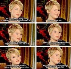 The wise words of Jennifer Lawrence.
