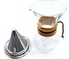 Zone - 365 Non-Electric Coffee Maker Pour Over Dripper wi…