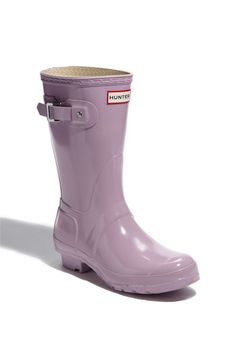 Hunter 'Original Short' Rain Boot in Orchid--just bought these for the crazy Salem weather!