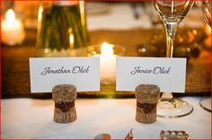 How to Make Place Card Holders for Your Wedding - Home Wizards