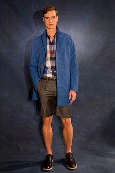 Favorite look at Todd Snyder Spring 2014 Men's Collection Latest Mens Fashion, Fashion News, Men's Fashion, Men's Collection, Summer Collection, Spring 2014, Spring Summer, Summer 2014, Spring Shorts
