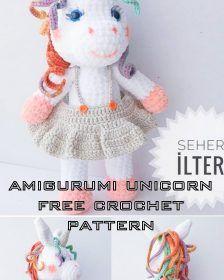 Amigurumi Free Patterns arşivleri - Page 4 of 7 - Crochet.plus Amigurumi Tutorial, Crochet Patterns Amigurumi, Amigurumi Doll, Crochet Toys, Free Crochet, Double Crochet, Single Crochet, Crochet Fish, Cute Sheep