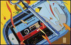 『FM STATION』のカセットレーベル