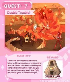 Quest 7: Double Trouble! by Deer-Head