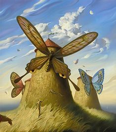Land of Cervantes - Vladimir Kush