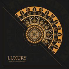 Luxury mandala art background with golden arabesque pattern arabic east style Vector Luxury Background, Art Background, Vector Background, Framed Wallpaper, Wallpaper Backgrounds, Mandala Design, Mandala Art, Ramadan Cards, Tribe Of Judah