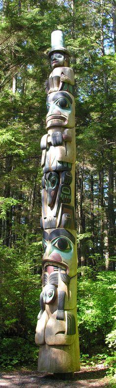 Northwest Native American Totem Poles   Totem Poles