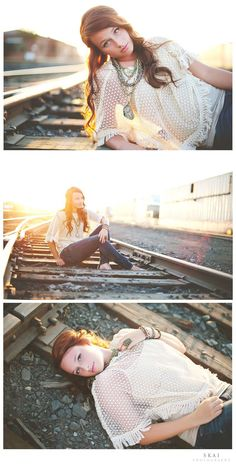 These are some great ideas for posses on any high school senior photo shoot.