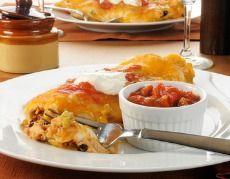 Low Glycemic Recipes: Sweet Potato Bean Burritos