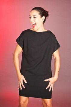 My friend Carmen Sevila Spanish fashion designer Spanish Fashion, Shirt Dress, T Shirt, My Style, Fashion Design, Dresses, Image, Vestidos, Shirtdress