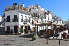 Frigiliana town square