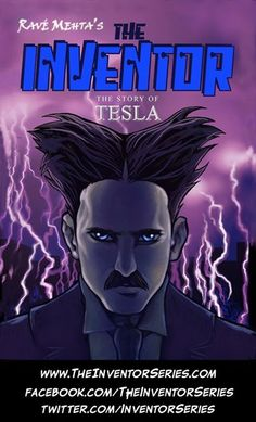 Happy 156th Birthday Nikola Tesla! A Conversation With Graphic Novelist Ravé Mehta at Comic-Con  http://www.huffingtonpost.com/mike-ragogna/happy-156th-birthday-niko_b_1660834.html