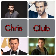 48 Best Chris Evans Chris Hemsworth Chris Pratt Chris Pine And