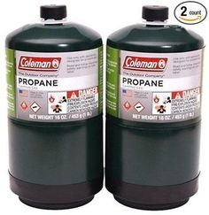 2PK 16.4OZ Propane Gas Camping Cooking Fireplace Fuel Stove BBQ Oven Hiking