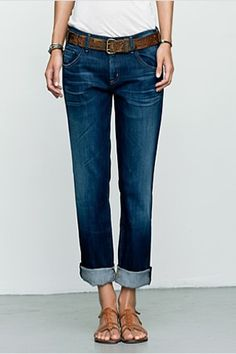 Citizens of Humanity 2014 Fall Collection Boyfriend Crop Jeans