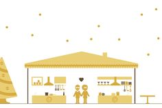 Graphic Design & Wedding Stationery by Paffi www. Book Illustration, Christmas Wedding, Wedding Stationery, Real Weddings, Toddler Bed, Graphic Design, Home Decor, Child Bed, Decoration Home