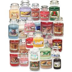 yankee candle by elizabeth-b-a on Polyvore featuring polyvore interior interiors interior design home home decor interior decorating Yankee Candle Cotton Candy
