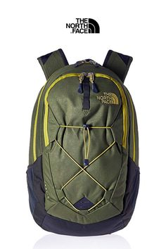 The North Face Men's Jester Backpack Backpack Reviews, North Face Backpack, Emboss, The North Face, Backpacks, Mens Fashion, Fit, Casual, Green