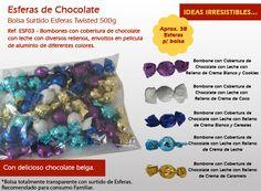 Aprenda acerca de nuestras esferas tienen una cobertura de chocolate y diferentes rellenos. Relleno, Hanukkah, Prove, Chocolate Frosting, Cream Puff Filling, Best Chocolates, Wraps, Bonbon, Messages