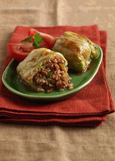 Stuffed Cabbage Rolls : Plant Based Cooking : Lightlife