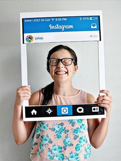 DIY an Instagram feed costume with this tutorial.