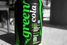 Μία αμιγώς ελληνική, εύγευστη εκδοχή της cola, βασισμένη σε φυσικά υλικά και με μηδενική περιεκτικότητα σε ζάχαρη, φωσφορικό οξύ και συντηρητικά. Σταδιακά κερδίζει σημαντικό μερίδιο της εγχώριας - και όχι μόνο - αγοράς αναψυκτικών. Coconut Water, Red Bull, Canning, Drinks, Green, Coca Cola, Philosophy, Anna, Drinking