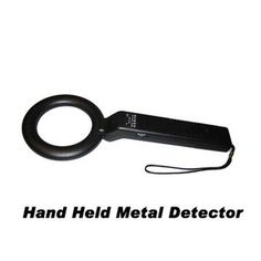 13、High-sensitivity Handheld Metal Detector The simple operation and smart design make it easy to save and has low failure rate. Its sensitivity can be adjusted according to the requirements of the scene, and it can detect even smaller goods like a pin.