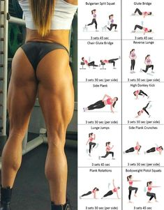 Add this routine to your workout once or twice a week. Your glute and leg muscles are the biggest muscles. Having a powerhouse lower body will improve your performance during your workout Fitness Workouts, Exercise Fitness, Butt Workout, At Home Workouts, Fitness Motivation, Health Fitness, Hamstring Workout, Calf Muscle Workout, Enjoy Fitness
