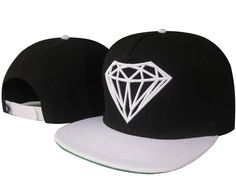HOT NEW baseball hat Diamond Snapback style Hip hop fashion Adjustable dimension Snapback Hats, Beanie Hats, Men's Hats, Beanies, Skate Hats, Style Hip Hop, Baskets, Dope Hats, Flat Bill Hats