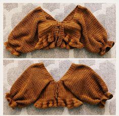 Crochet Crop Top, Crochet Bikini, Crochet Shirt, Crochet Tops, Crochet Designs, Crochet Patterns, Pattern Sewing, Top Pattern, Bralette Pattern