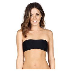 Volcom Simply Solid Bandeau/ Simply Solid Full - XS - Black