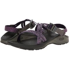 Chaco Updraft Ecotread X Women's Sandals, Purple ($76) ❤ liked on Polyvore featuring shoes, sandals, purple, purple sandals, buckle shoes, arch support shoes, wrap sandals and wrap around sandals
