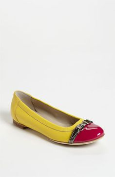 Attilio Giusti Leombruni Toe Cap Ballet Flat available at Nordstrom