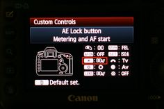 Back Button Focus Settings & Canon 5D Mark III | Wedding Photography Blog | Melissa Jill Photography