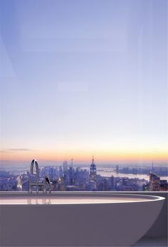 To have this view one day... Designed by Rafael Viñoly Architects