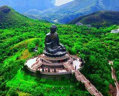 Tian Tan Buddha in Hong Kong