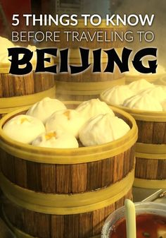5 useful travel tips for anyone planning a trip to Beijing, China.
