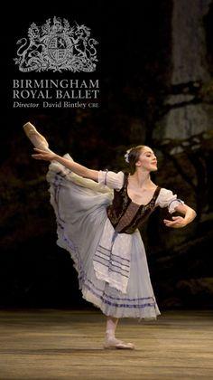 Birmingham Royal Ballet - Giselle; Ambra Vallo as Giselle; photo: Bill Cooper