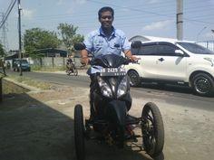 Suzuki Skywave Trike by RWIN Solo Indonesia