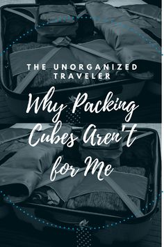 """I've often wondered: Are packing cubes worth it? Many fellow travelers love them, and so does my husband. So on a recent trip, I test-drove a set for the first time—and discovered that despite all the raves I've read about them, they'll never make it into my """"must-pack"""" pile. To paraphrase an old break-up cliche, the problem wasn't the packing cubes. It was me. Packing Cubes, Packing Tips, Travel Deals, Budget Travel, Saint Lawrence River, Chicago Tribune, Raves, Fabric Bags, Driving Test"""