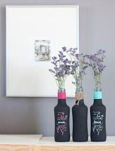 Receta casera para hacer pintura de pizarrón de forma fácil y económica ~ lodijoella
