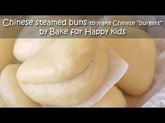 caramel pork belly kong bak bao pau Chinese steamed burger buns tau you bak